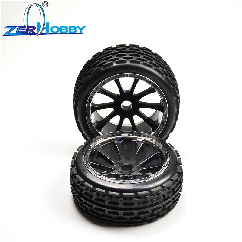 hsp rc car toys parts accessories tire set wheel complete for 1/5 gas baja 94054-4WD, 94059 (item no. 51023, 51003) hsp racing rc car upgrade spare parts accessories 054201 al roll cage for hsp 1 5 gas powered 4wd off road baja 94054 94054 4wd