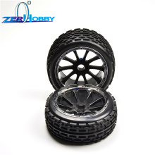 hsp rc car toys parts accessories tire set wheel complete for 1/5 gas baja 94054-4WD, 94059 (item no. 51023, 51003) стоимость