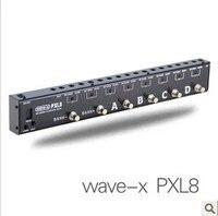 JOYO Loops Guitarra Efecto Programable PXL8 Pedal Looper Switcher Router Looping Sistema WAVE-X Para Boss/Guitarra