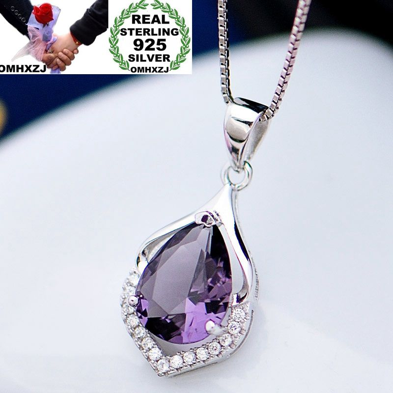 Top 10 Jewelry Gift Sterling Silver Amethyst Pendant