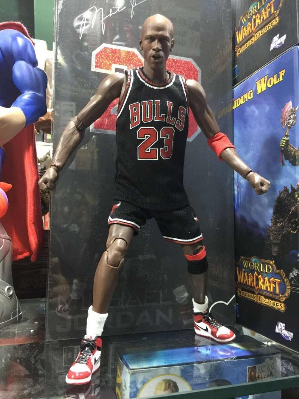 2a9bc539205b4a Detail Feedback Questions about Michael Jordan Chicago BULLS 23 Action  Figure Toy PVC UpperDeck Collection Model Dolls Christmas Present Toys for  Boys on ...