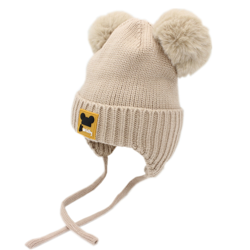 Neugeborenen Baby Kinder Mädchen Hut Kappe Für Winter Warme Verdickt