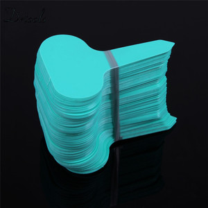Image 3 - 100pcs pack אקראי צבע פלסטיק צמח תוויות זרעי פוט דה מרקר משתלת גן תגיות Stake חמוד גן תוויות GT019