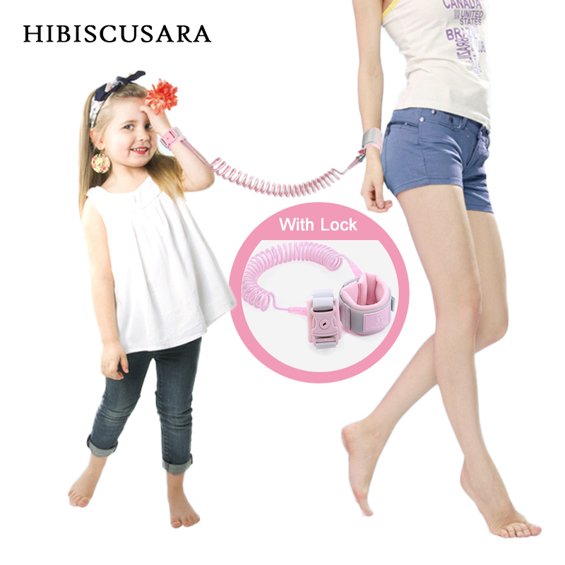 Upgrades Kids Anti Lost Wrist Link Toddler Leash Safety Harness Children Strap Rope Outdoor Walking Hand Belt Band Baby Walker