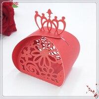 100 قطع الزفاف كاندي صندوق الزفاف متعددة الأنماط حلويات الديكور هدايا الزفاف هدية مربع مع الشريط الطفل دش حزب 6ZT87