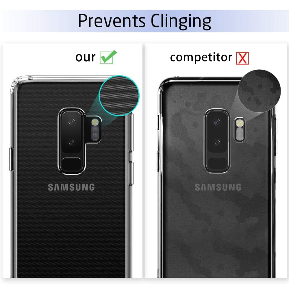 Case For Samsung Galaxy S10 S10E S9 S8 S7 TPU Silicone Durable Clear Soft Case for Samsung S10 Lite 5G S9 Plus Edge Back Cover *