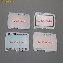 반다이 원더 스완 컬러 wsc ws 스크린 렌즈 프로텍터 용 실버 화이트 교체 5 가지 색상 선택