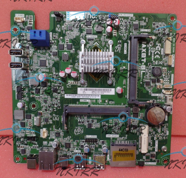 US $166 5 10% OFF|DB SUJ11 001 DB SWB11 002 69M10DC50A04 IAXBT BL REV:1 02  DDR3 J1900 MotherBoard SYSTEM BOARD for Acer Aspire AIO ZC 606 ZC600-in