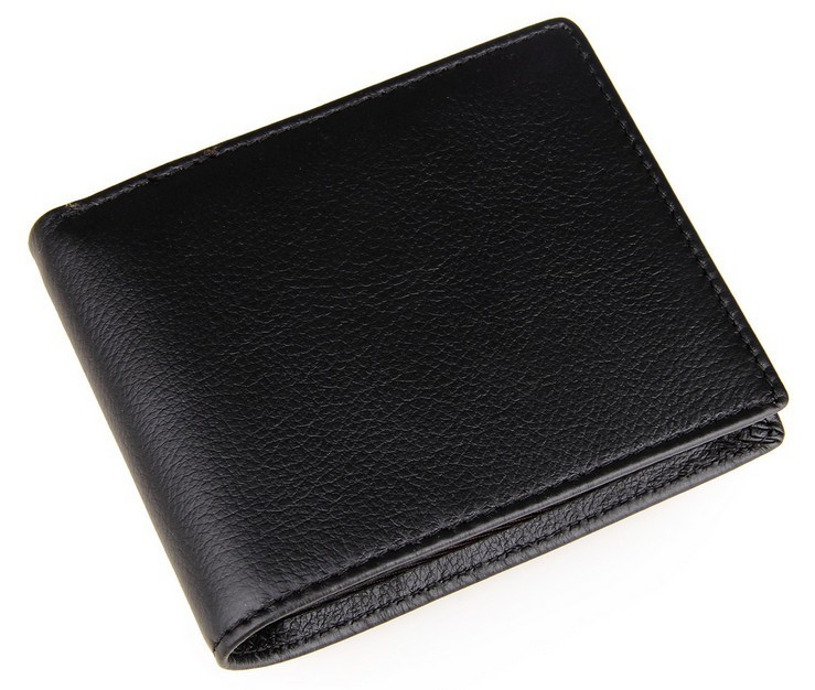 !New Vintage Genuine Leather Men Wallets Small Dollar Wallet Purses C3417 - Fiona's and Bag Store store