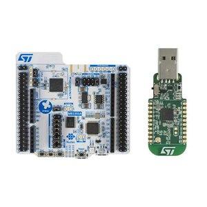 Image 2 - P NUCLEO WB55 مجموعات التنمية الذراع بليه النواة حزمة بما في ذلك USB دونغل و Nucleo 68 مع STM32WB55 MCUs
