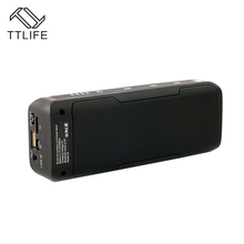 TTLIFE J6 Multifunction Portable Wireless Bluetooth Speaker 6W Stereo Power Bank FM Radio Sound Box Home Theater Party Speaker