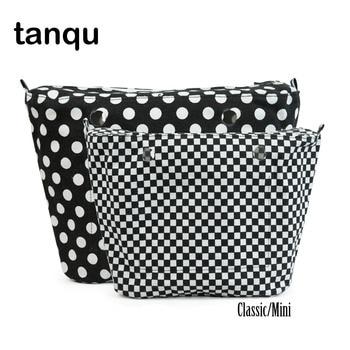 tanqu 2018 New Classic Mini Colourful Insert Lining Inner Pocket For Obag o bag women Tote Handbag