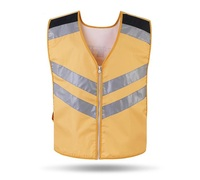 Abrasion Resistance Safety Comfortable Breathable Cycling Reflective Vest Working Clothing Customized Printing Word