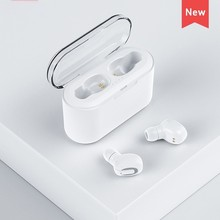 New Mini Ture Wireless Bluetooth Headset Earbuds Stereo Earphone with Built-in HD Mic and Charging Case for iPhone xiaomi
