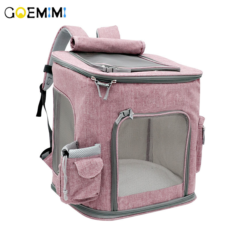 New Arrival Pet Cat Backpack Breathable Mesh Dog Carrier Top Quality Pet Puppy Outgoing Bag Cat
