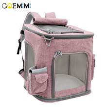 New Arrival Pet Cat Backpack Breathable Mesh Dog Carrier Top Quality Puppy Outgoing Bag Travel HandBag