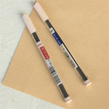 B414 love pure wind automatic pencil lead 2B super long lead 0.5mm X18 Creative stationery of office supplies for students image