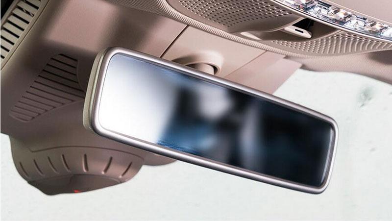 1PCS Inner Rearview Mirror Frame Trim for Mercedes Benz E Class W213 2016-2017