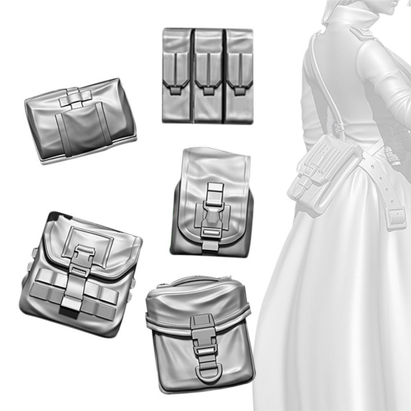 Dongzhur <font><b>1/35</b></font> equipment <font><b>resin</b></font> soldier American backpack <font><b>accessories</b></font> Model Building Handwork Gift For Kid <font><b>Resin</b></font> Figures model toy image
