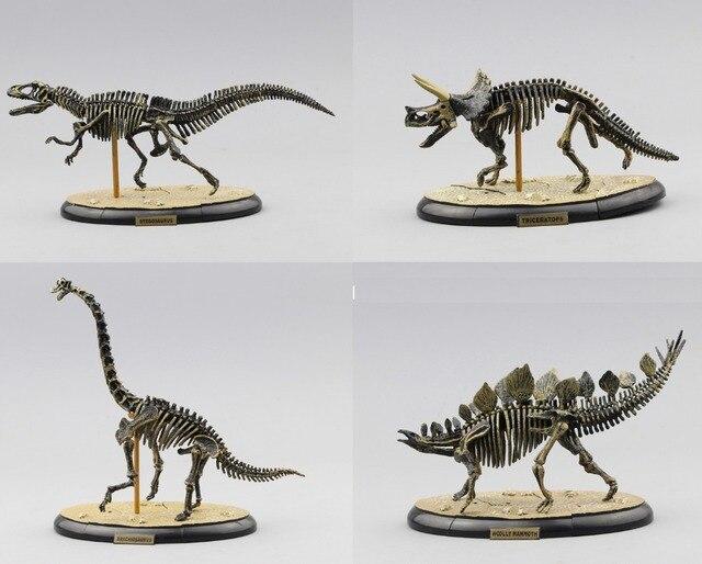 Mundo Jurásico Brachiosaurus esqueleto fósil PVC Asamblea dinosaurio ...