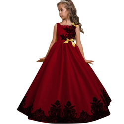 2018 TELOTUNY Flower Girl Princess Dress Kid Party Wedding Pageant Formal Tutu Dresses Clothes Hot Comfortable Clothes C0411#30
