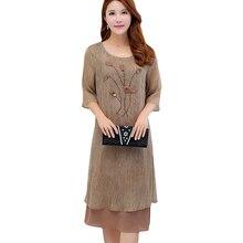 Новый плюс Размеры 5XL Лето Для женщин Платья для женщин Винтаж Элегантный женский бриллиантов шифоновое платье оборками платье YP0053