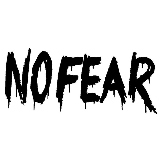 15 2 6 7cm No Fear Funny Graffiti Car Styling Car Stickers