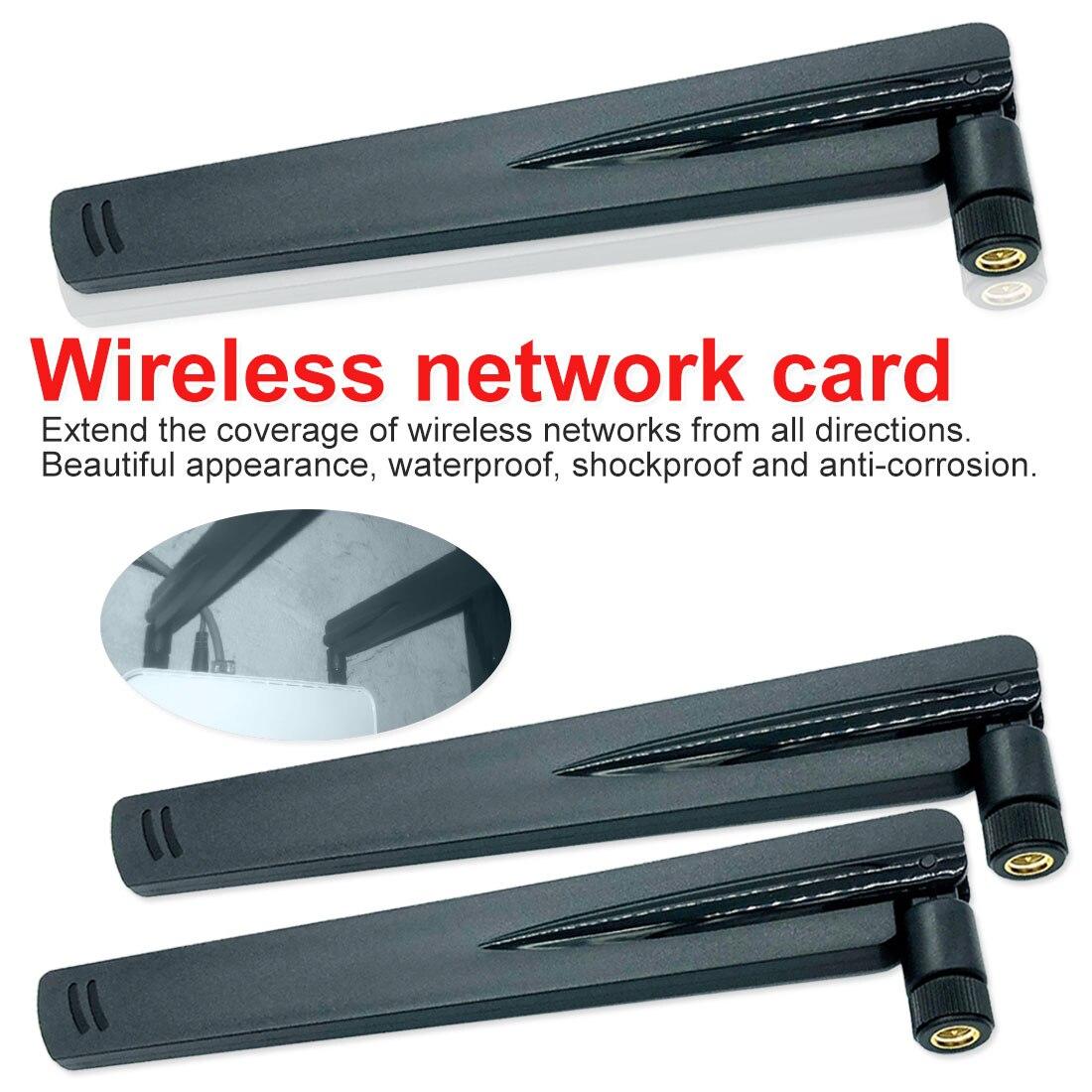 2.4Ghz Antennas 18 dbi Aerial Wireless WIFI Antenna Booster Universal Antennas Amplifier WLAN Router RP-SMA Male Connector