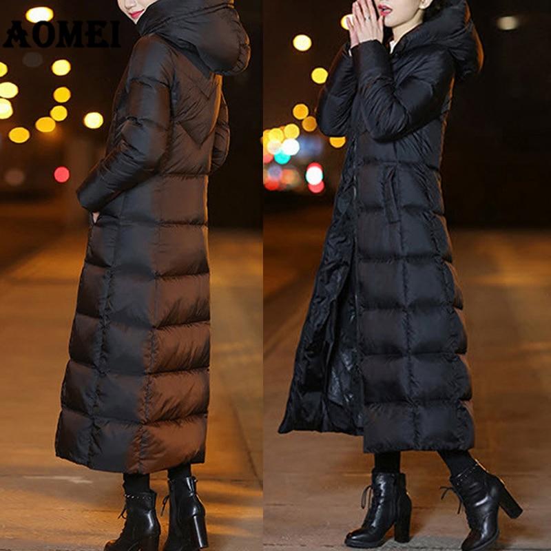 Vestes Hiver rembourré Coton Hat Noir Avec black Femelle Longue Manteau Coton Femmes Noir Vêtements 2xl Automne Chaud With Mince Épaissir Du Parka wZqrCwzY