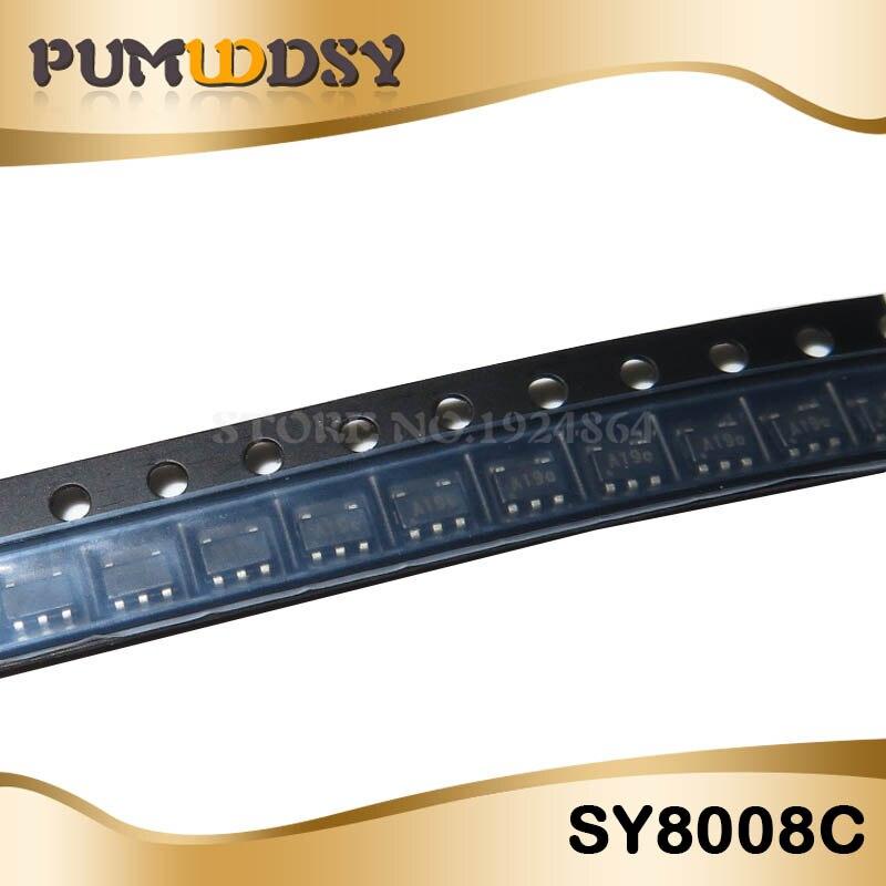 10PCS SY8008CAAC SY8008CAA SY8008CA SY8008C SY8008C SY8008 SOT23-5