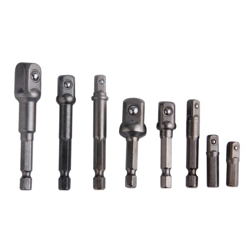 u0b878pcs socket adapter set  u2460 drill drill bit crv extension  uc6c3