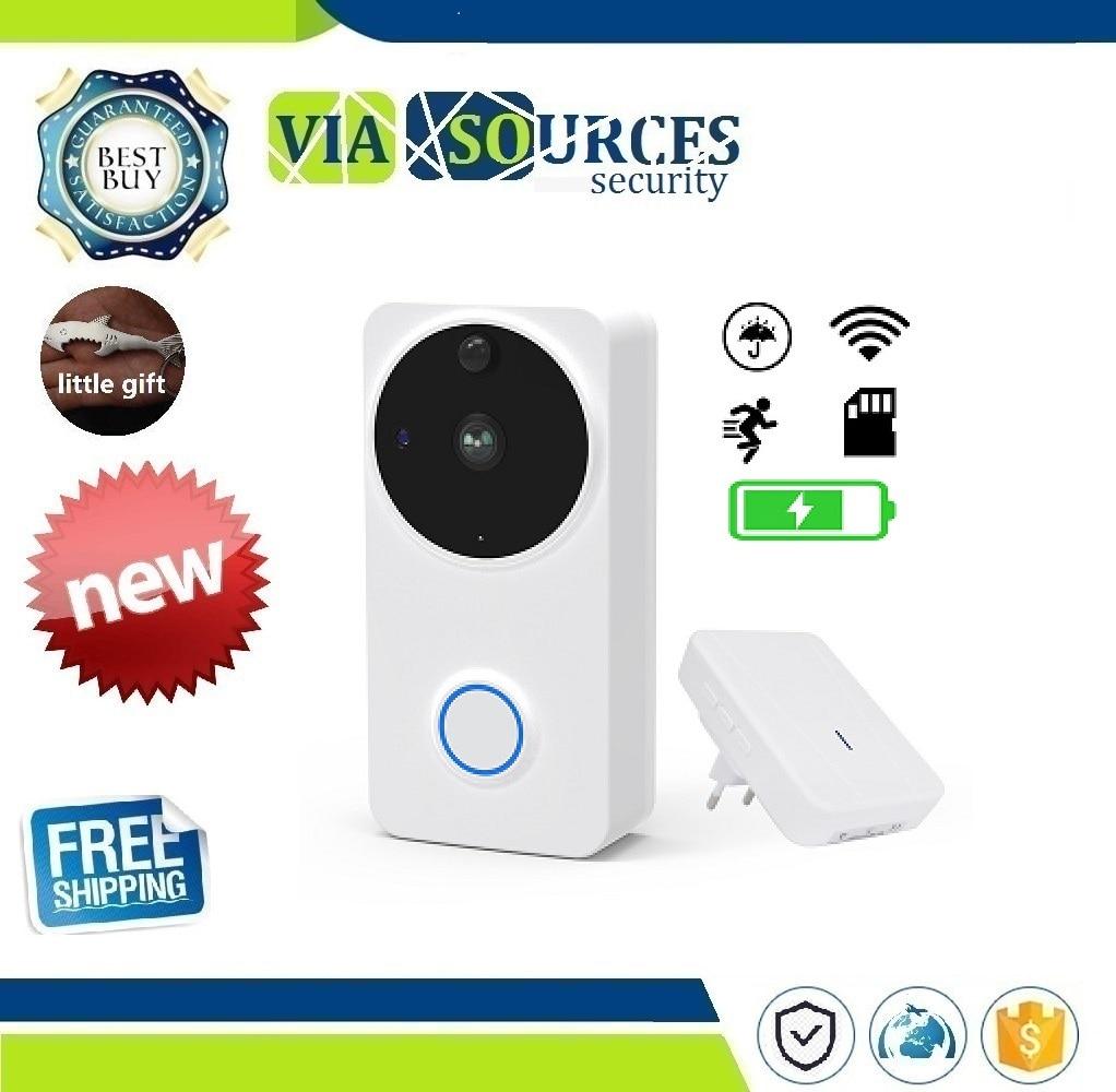 CTVMAN Video Doorbell Door Intercom Waterproof Door Phone Wifi Battery Wireless Doorphone For Apartment Outdoor Doorbell Camera