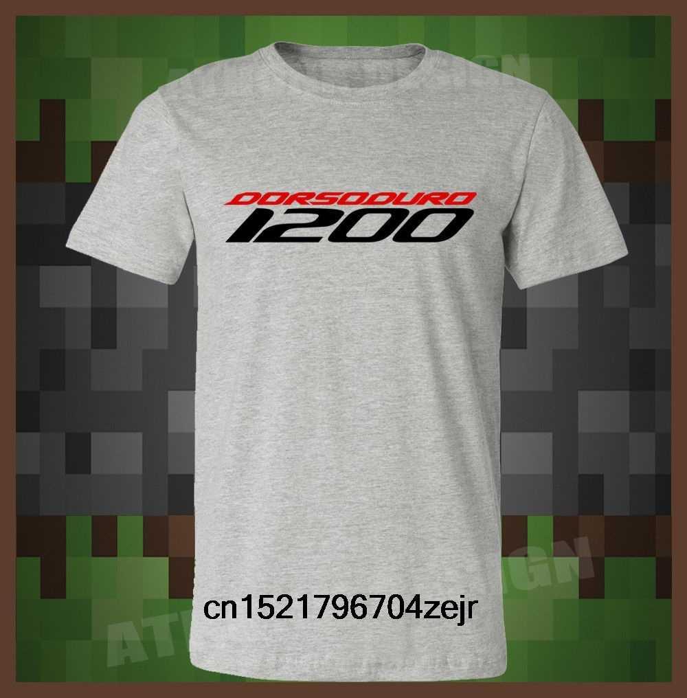 Мужская футболка Aprilia Dorsoduro 1200 s с круглым вырезом и короткими рукавами забавная