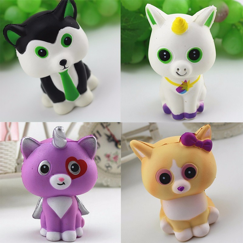 Mobile Phone Straps Best Deal Soft Simulation Super Slow Rising 10cm Cartoon Cat Cell Phone Toys Decoration Phone Straps Best Gift For Kids Outstanding Features