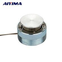 AIYIMA 1 шт. Полнодиапазонный динамик 20 Вт 4/8ohm 44 мм аудио вибрации ВЧ Рог Hi-Fi-ВЧ-резонансный динамик стерео звук