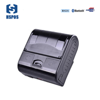 Pos mini bluetooth thermal printer 80mm portable receipt printer MPT 3 Support RS 232 Serial USB print with mobile phone