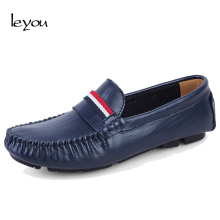 Leyou Men Shoes Loafers Moccasins Mens Shoes Casual Flats Spring Loafers Slip On Shoes Men Loafers