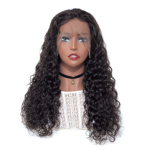 VSHOW 13x4 Peruvian Water Wave Lace Front Wig Pre Plucked 150% Density 13x6 Remy Human Hair Wigs For Black Women