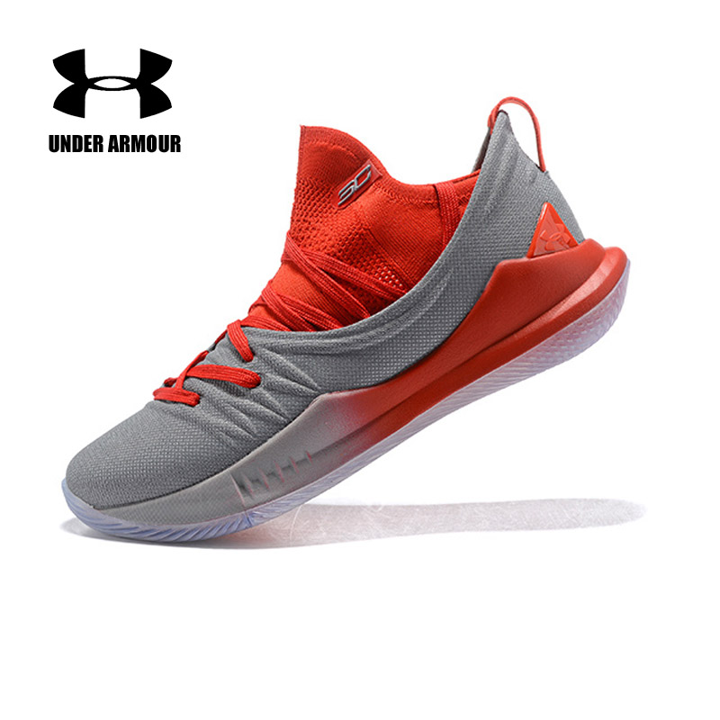 Under Armour Men Curry 5 Basketball Shoes stephen curry shoes Zapatillas hombre Deportiva Men Outdoor Cushioning Light Trainers under armour men curry 5 basketball shoes stephen curry sport basketball sneakers male training unique socks design sport shoes