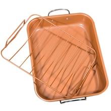 1 шт. Форма для выпекания многоразовые прямоугольный функциональный с антипригарным покрытием для выпечки, из углеродистой стали лоток для выпечки куриные крылышка торт