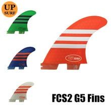 fcs2 fins G5 Surf Fins quillas surf  Surfboard surfboards fcs ii Blue,green,white, orange Free Shipping Hot Sale