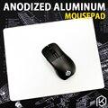 Коврик для мыши из алюминиевого сплава  игровой коврик для мыши с бесплатной подарочной поддержкой планшета с нескользящей резиновой подош...