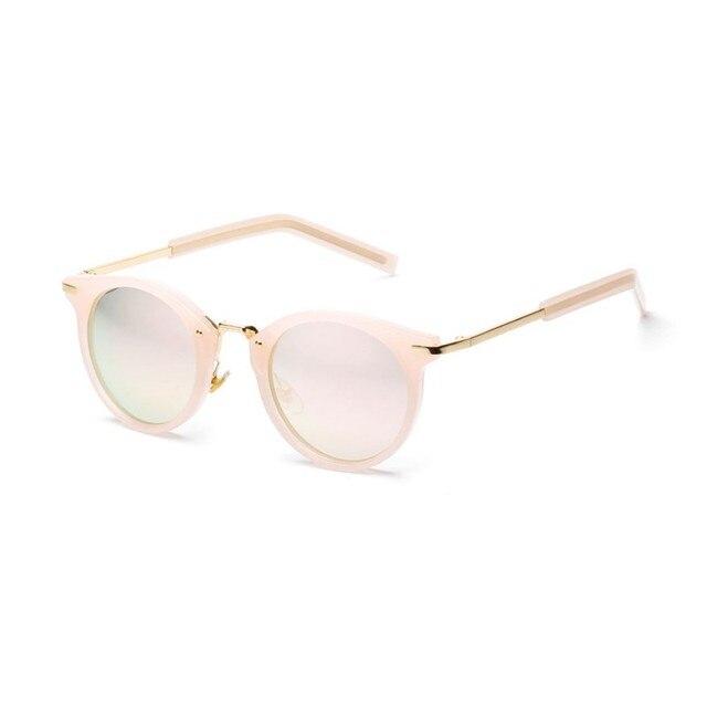 be32b9684b6c Sunglasses Fashion Sunglasses Women Colorful Designer Vintage Sun Glasses  Lady Round Shades Street Style Frames Eyewear 2017 Hot-in Sunglasses from  Apparel ...