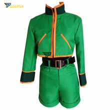 цены на Hunter X Hunter Gon Freecss Cosplay Costumes with Shoes Covers Custom Made Any Size  в интернет-магазинах