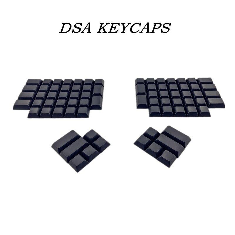 Keycaps em Branco Mecânico do Teclado Pbt dos Keycaps de Ergodox Pbt para o Perfil Dsa do Jogo de Ergodox Dsa Mod. 1269359