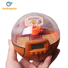 LeadingStar Kids Second Generation Electronic Fingertip Handheld Basketball Palm Shoot Game Toys with LED Light and Music zk30