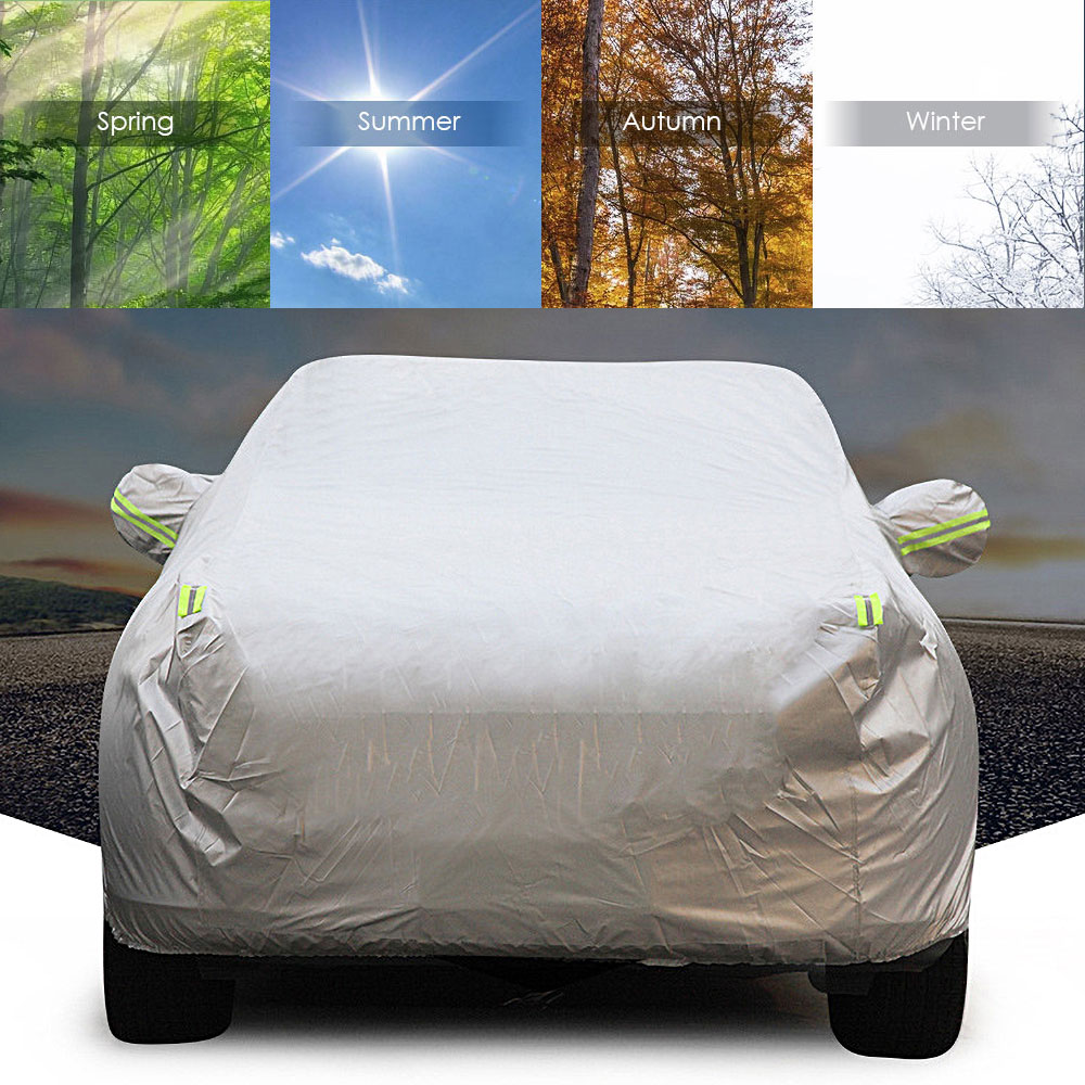 Universel Imperméable bâches de voiture Extérieur Résistant Aux UV Soleil Housse de Protection pour La Poussière Pluie Neige Protecteur Protection