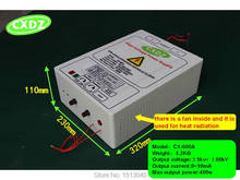 high voltage power supply WITH 5kv 60KV OUTPUT for remove smoke lampblack and dust , air purifiers ,air ionizer