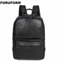 Натуральная кожа мужской рюкзак большой емкости мужские дорожные сумки высокого качества модная деловая сумка для человека Досуг сумка дл