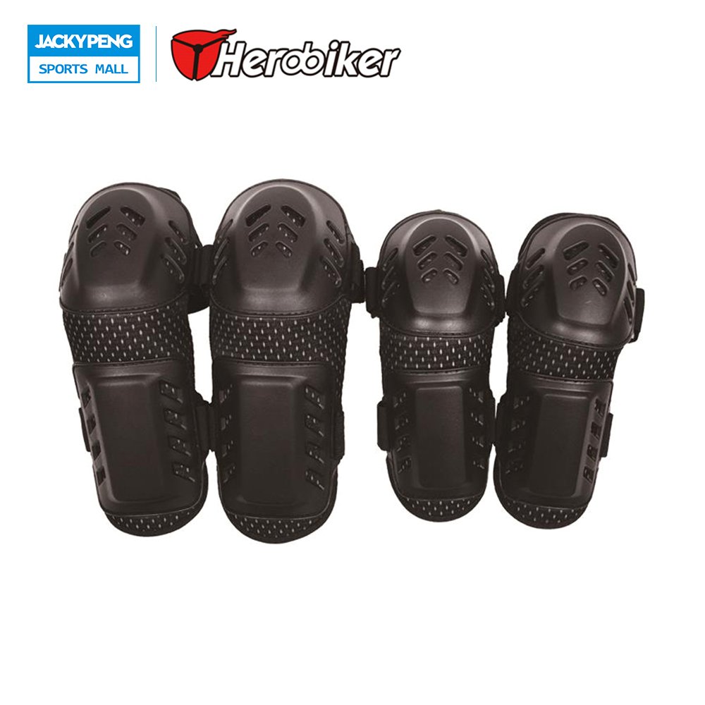 HEROBIKER 2017 1Set Motorcycle Kneepad Motocross Knee Motorcycle Elbow Outdoor Knee Elbow Protection Off road Protective
